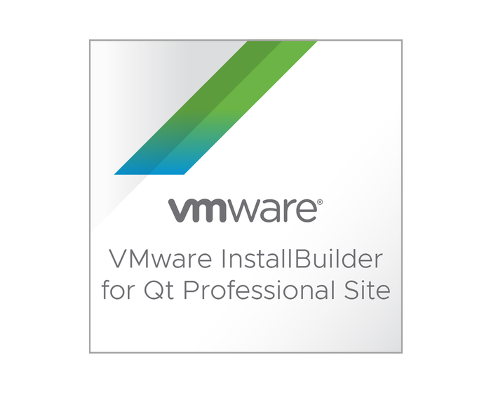 VMware InstallBuilder para Qt Profesional Site